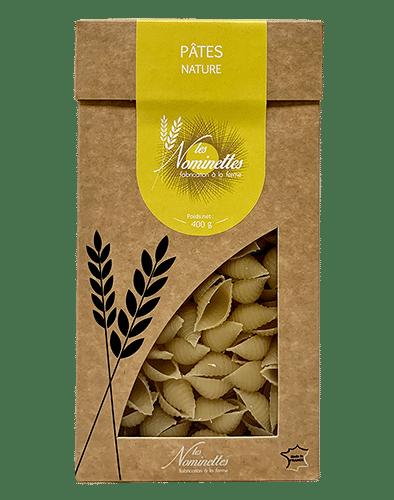 paquet de pâtes la nature